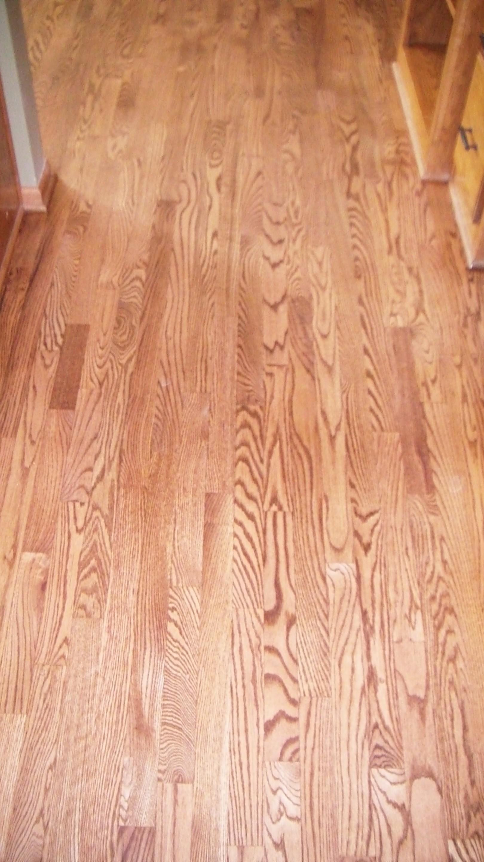 Hardwood Floor with 19 plugs