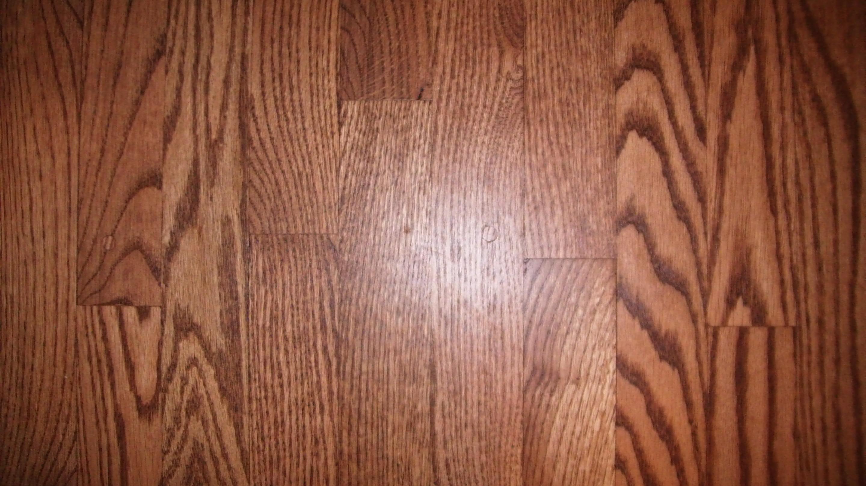 Hardwood floor with 2 plugs